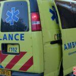 Vrouw gewond bij verkeersongeval
