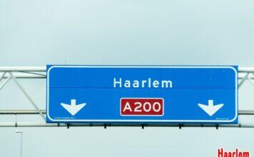 stock verkeersbord Haarlem A200