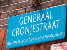 Stock Generaal Cronjéstraat Cronjestraat Haarlem