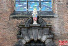 Bakenesserkerk, onthulling leeuw. Fotografie: Ad Schaap.