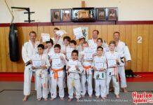 Jeugdige judoka's winnen tweede wedstrijd. Fotografie: Ad Schaap.