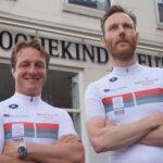 Haarlemse makelaars trappen tegen kinderkanker tijdens Giro di KiKa