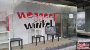 Stock Weeggeefwinkel