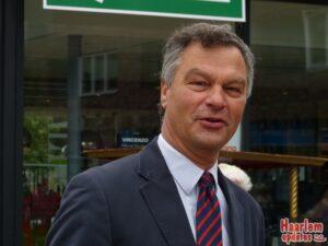 Burgemeester Bernt Schneiders. Fotografie: Hans van Leuven / Madrieco.nl.