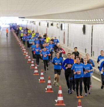 Velsertunnel Run: één groot hardloopfeest! Foto: Velsertunnel Run/Michel van Bergen.