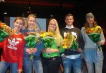 Amber, Amber, Annelene, Ruben en Esmee. Foto: IRIS, Stichting voor CVO.