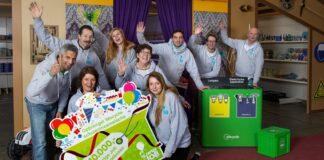 Wecycle steunt Jarige Job via de scholeninzamelactie zodat 285 kinderen hun verjaardag kunnen vieren. PR foto Wecycle.