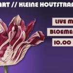 Tulpomania en live muziek voor het vergeten kind in de Kleine Houtstraat