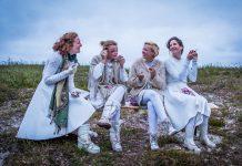 Ragazze Quartet. Fotografie: Isabelle Renate la Poutre.