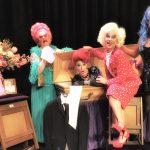 Theatergroepen op promotie tijdens Cultuurfestival
