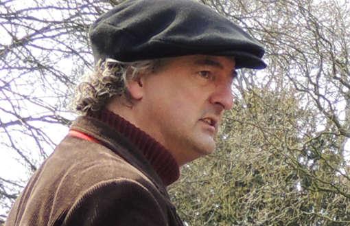 Storytrail Verteller Franciscus Haarlem. Foto: Storytrail.