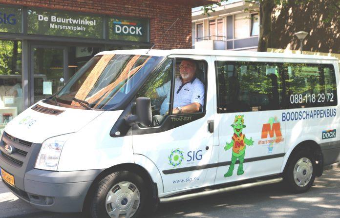 De Boodschappenbus. De winnaar van de Participatieprijs 2017 wil graag uitbreiden (foto SIG).