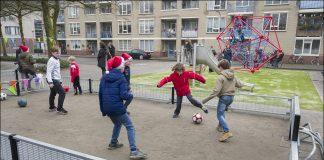 Feestelijke onthulling van het nieuwe Pretoriaplein in Haarlem-Noord. Fotografie: United Photos/Paul Vreeker.