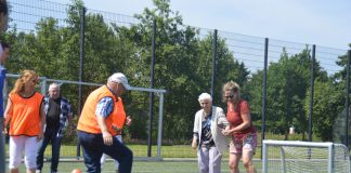 Walking Footbal bij Onze Gezellen. Foto: archief SportSupport.