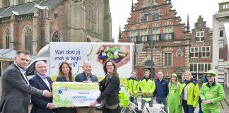 100% elektrische inzameling van lege batterijen in regio Haarlem en Amsterdam. Fotografie: Paul Vreeker, United Photos.