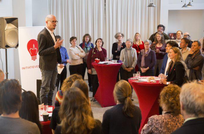 Initiatievencafé een succes. Fotografie: Jurriaan Hoefsmit.