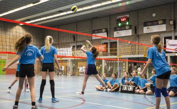 Haarlems School Volleybal Toernooi weer groot succes! Fotografie: Renata Jansen fotografie.