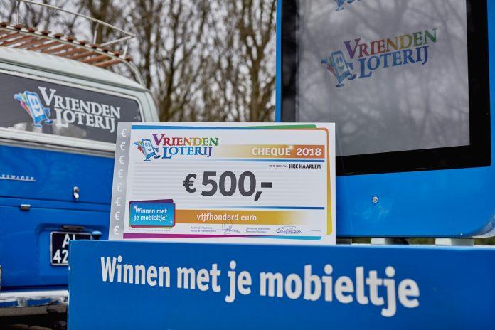 HKC Haarlem eindigde als vijfde tijdens de Nationale Belmaanden in februari en ontvangt een eenmalige extra bijdrage van 500 euro van de VriendenLoterij. Fotografie: Bastiaan Musscher.