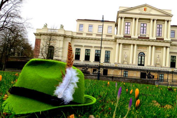 Publiciteitsfoto Sneeuwwitje en de zeven rollen, Productiehuis de Verbinding.