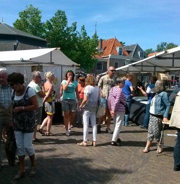 PR foto Kunstmarkten Spaarndam.