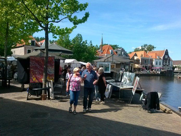 Aangeleverde PR foto Spaarndamse kunstmarkt.