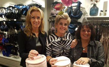 Van links naar rechts: Debby, Susan en Gina. Ingezonden foto.