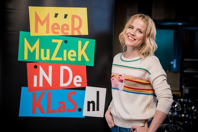 Meer Muziek in de Klas - ambassadeur Ilse DeLange.
