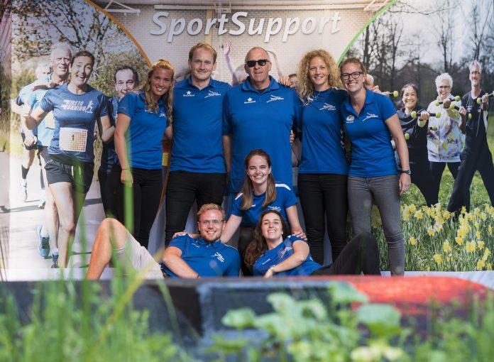 het team buurtsportcoaches Bloemendaal en Heemstede. Fotografie: Renata Jansen.