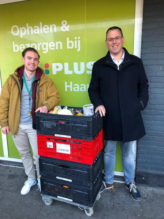 Links Hessel Ras (HVO Querido) en rechts Jeroen Vuijst (PLUS). Aangeleverde foto.