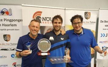 Nummer 1, 2 en 3 van de Ripperdaklasse: Jeroen Peters in het midden, aangevuld met Ron van den Burg links en Timon Priem rechts. Fotografie: Maarten Nouwen.
