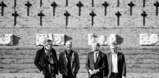 Vier Haarlemse vrienden. Fotografie: Ramon Philippo.
