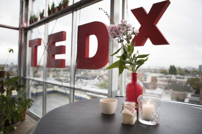 TEDX. Fotografie: Marjory Haringa.