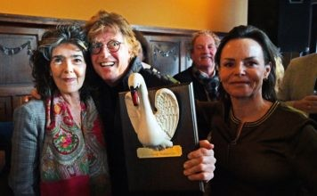 Zwanenzang 2019 winnaar Rene Las van Bennekom. Fotografie: Onno Hulshof.