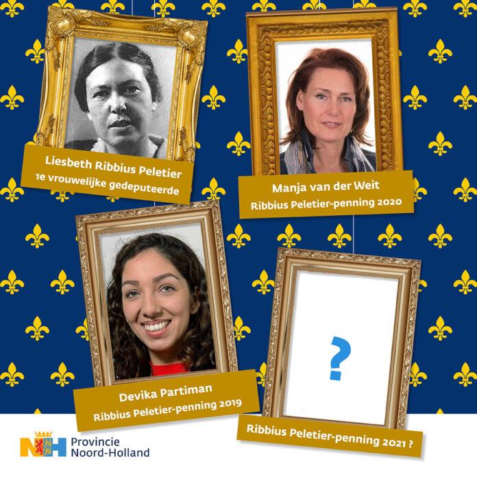 Meld een kandidaat aan via www.penning.noord-holland.nl.