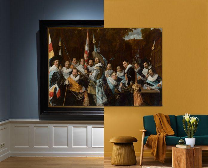 Vergadering van de Cluveniersschutteri - Frans Hals